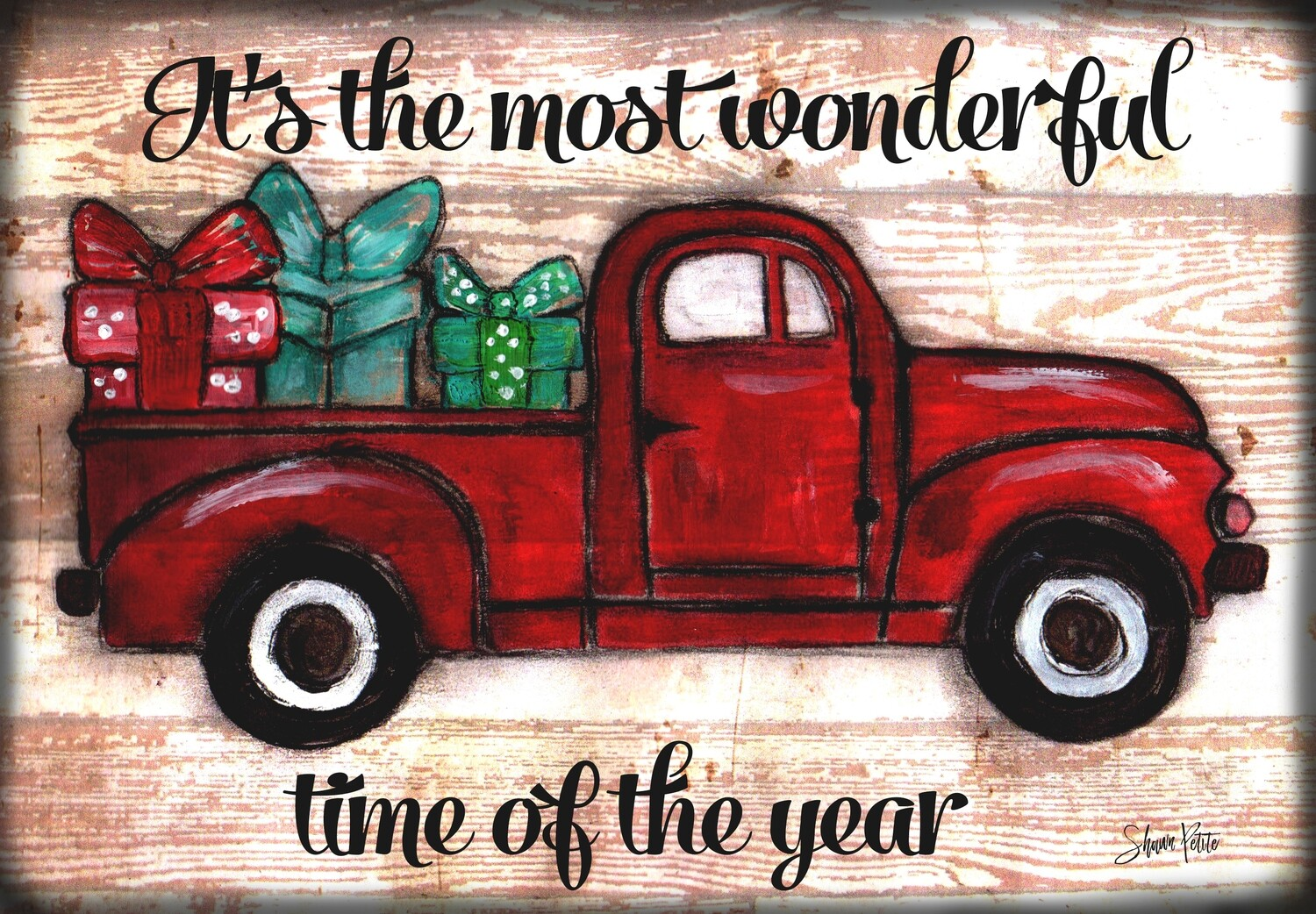 """It's the Most Wonderful time of the Year"" truck"