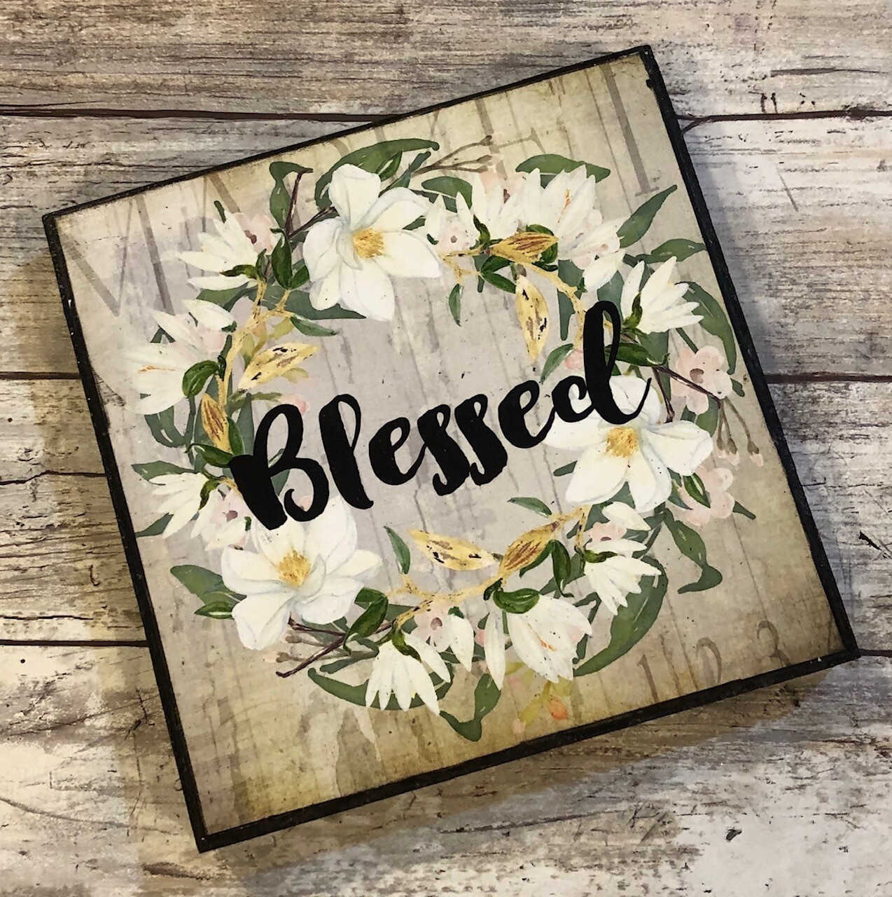 """""""Blessed wreath"""" 6x6 clearance"""