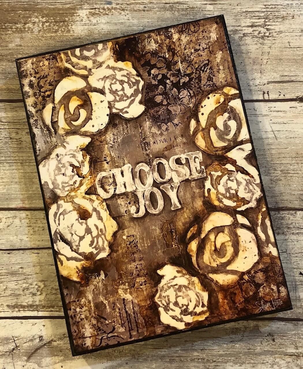 """Choose Joy"" 5x7 clearance"