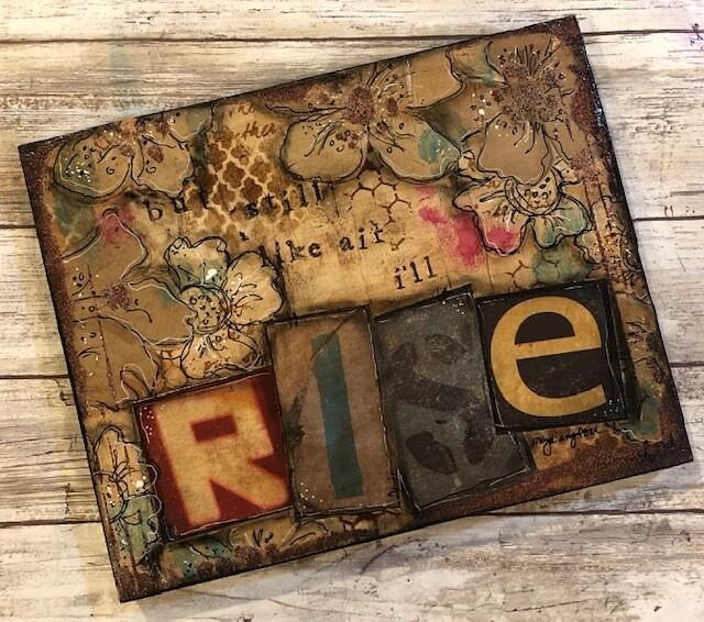 """""""Rise"""" 8x10  original clearance"""