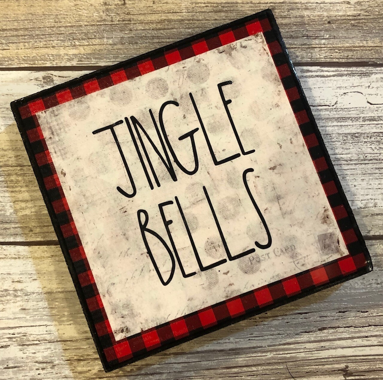 """Jingle Bells"" 4x4 Clearance"