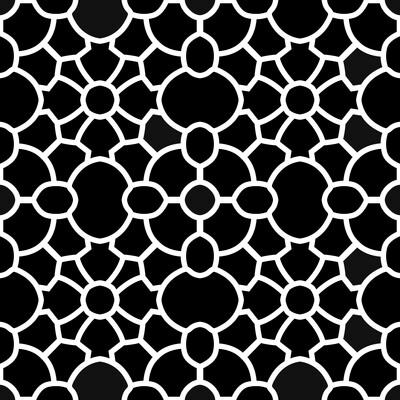 Modern Pattern 1 6x6 stencil