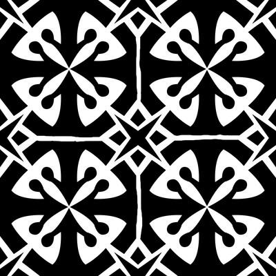 Modern Pattern 4 6x6 stencil