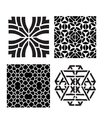 Modern Pattern Minis 2 stencil