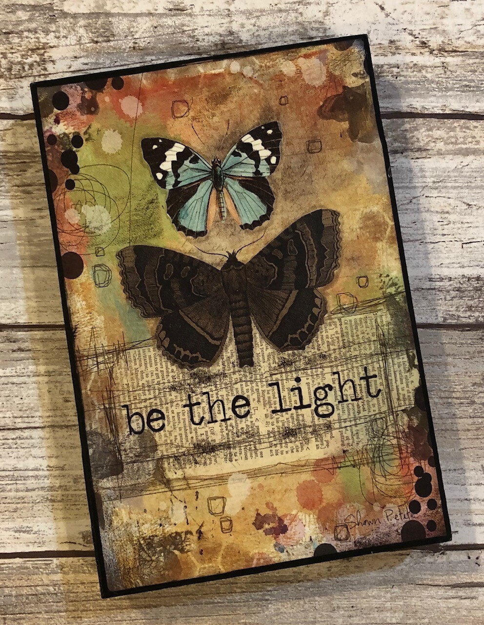 """""""Be the Light"""" 4x6 Clearance"""