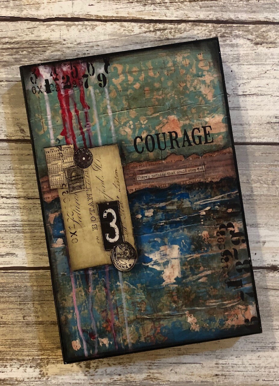 """Courage"" 4x6 clearance"