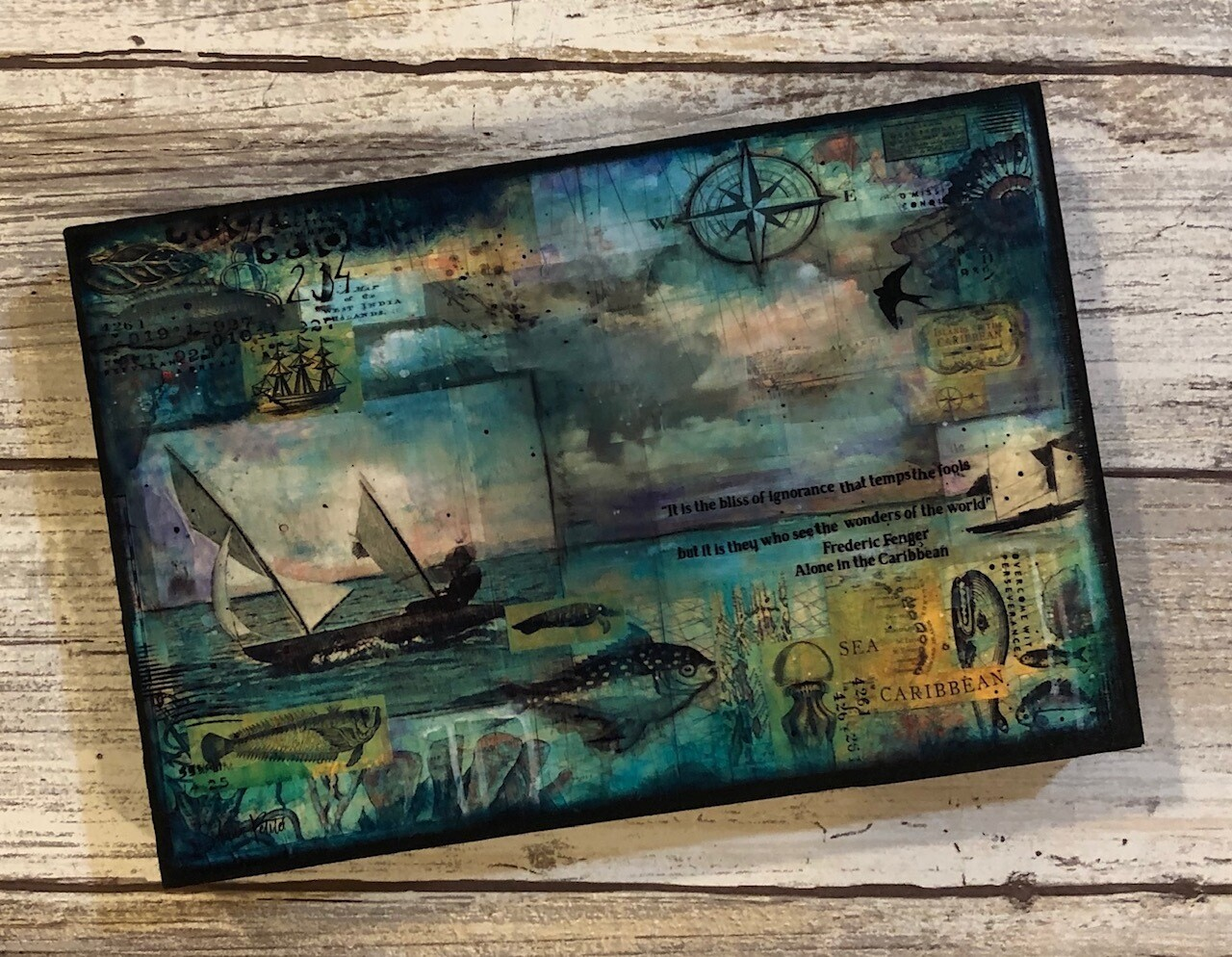 """""""Wonders of the World"""" 4x6 clearance"""
