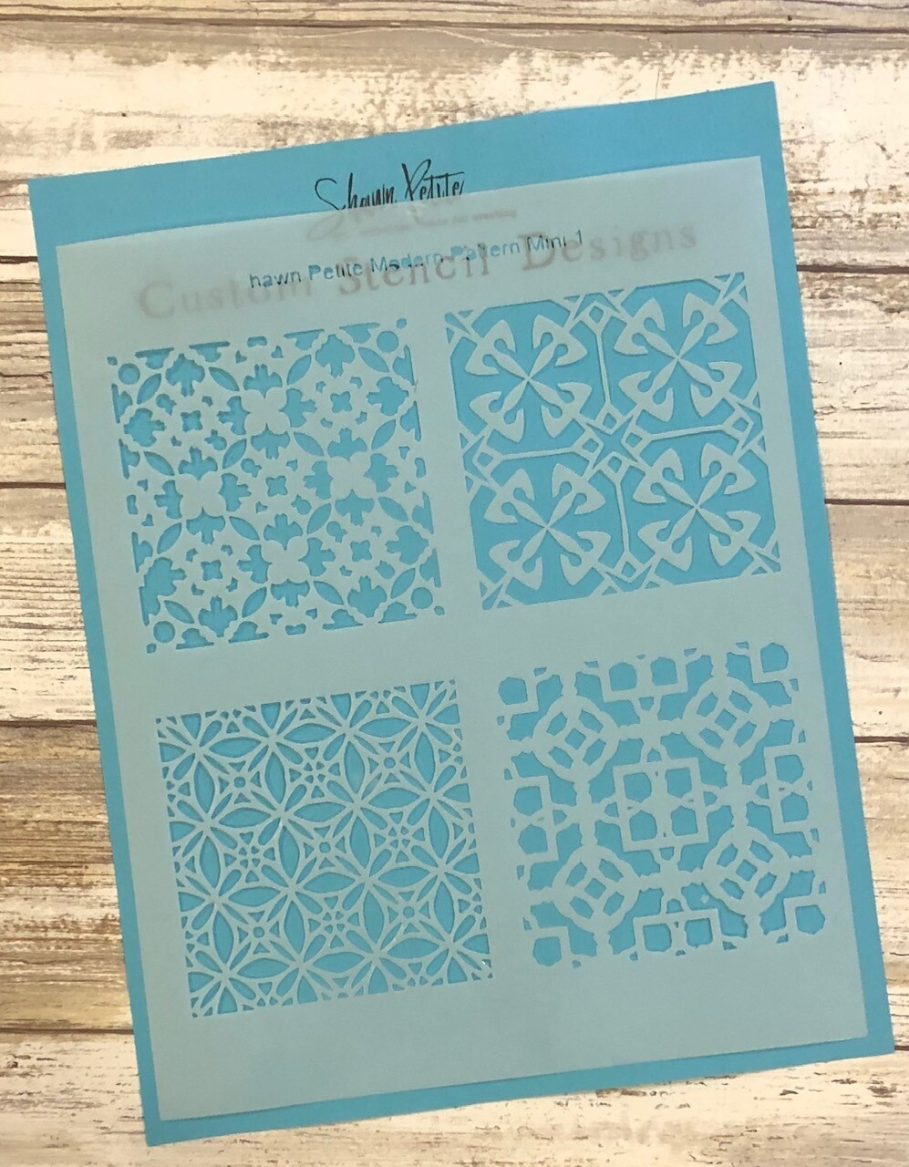 Modern Pattern Mini 1 clearance stencil