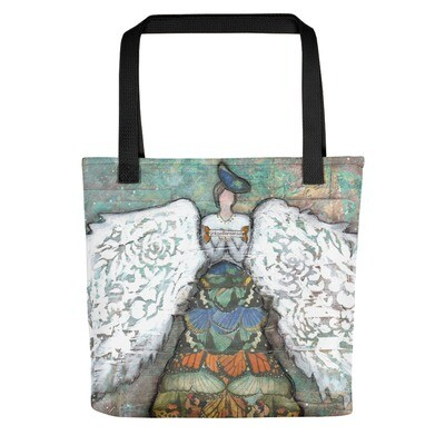 Angel of Transformation Tote bag