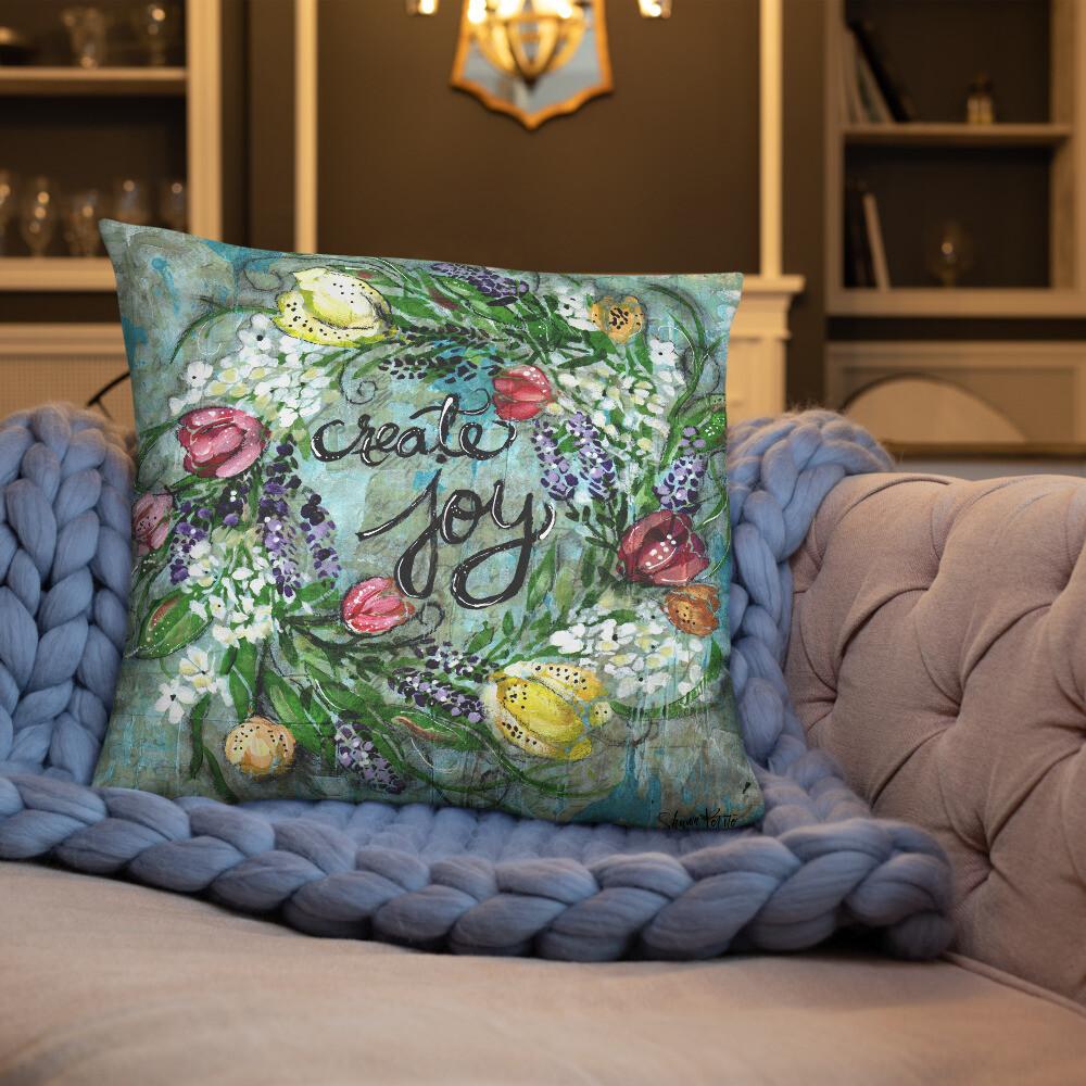 Create Joy Basic Pillow