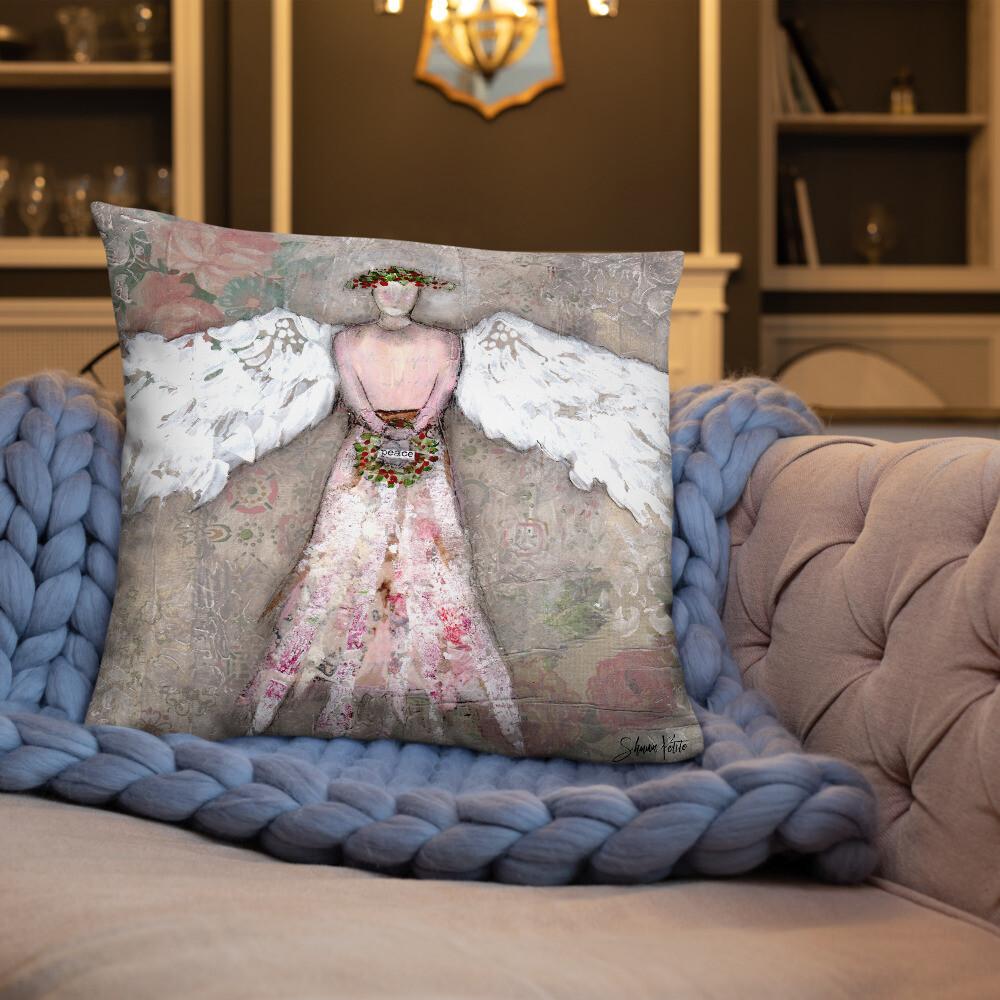 Angle of Peace Basic Pillow