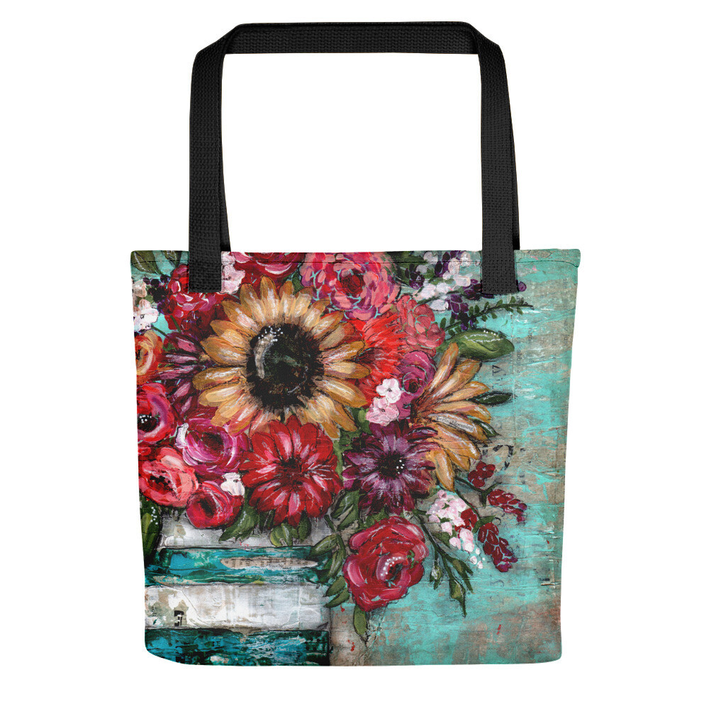 Bright Sunflower Tote bag