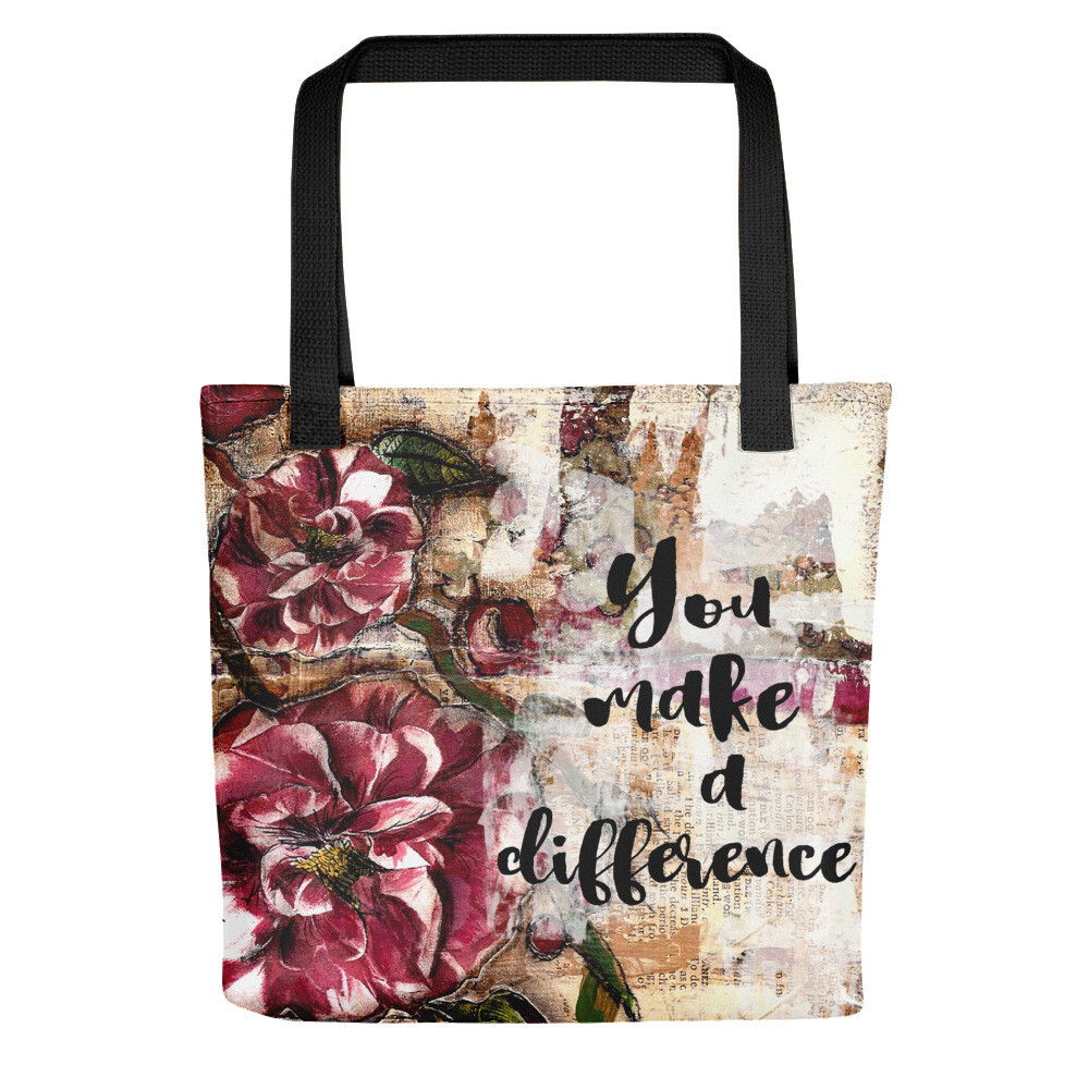 You make a Difference Tote bag