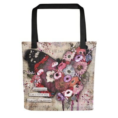 Transformation butterfly Tote bag