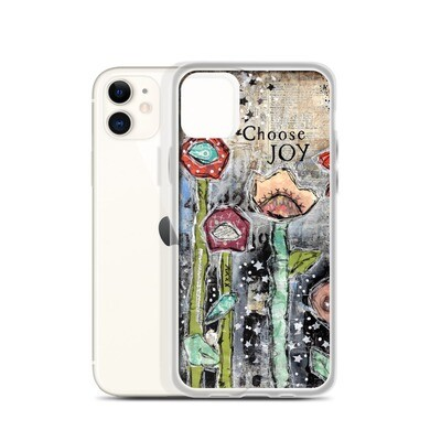 Choose Joy iPhone Case