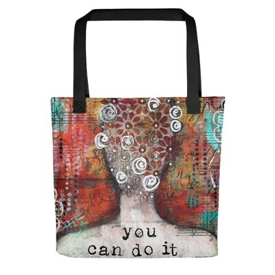 You can do It Tote bag