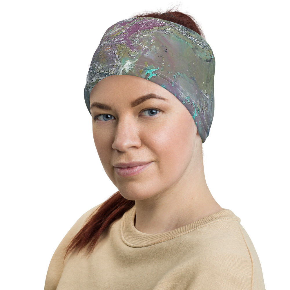 Paint Pour Head Wrap/Neck Gaiter