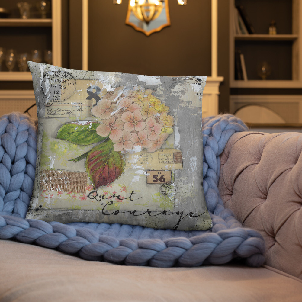 Quite Courage Basic Pillow