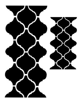 Moroccan Tile 4 stencil