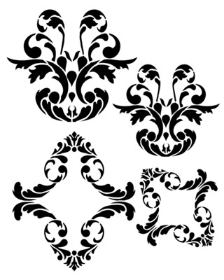 Paris Elements 2 stencil