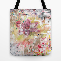 Freedom flower tote