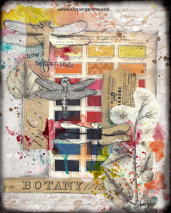 New Beginnings Sunday Inspiration 10-2-16 collage pak instant download