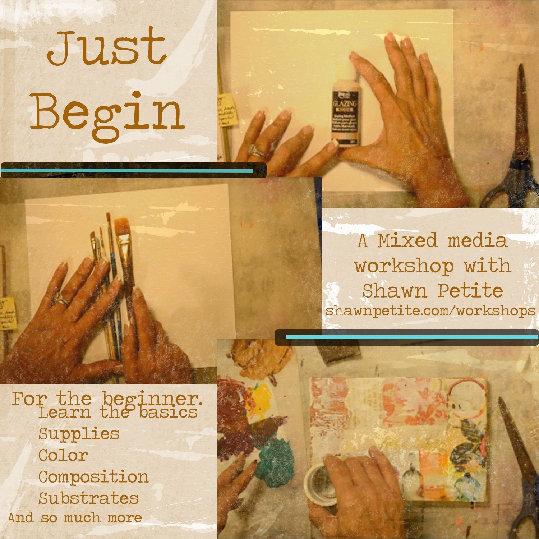 Just Begin workshop instant download