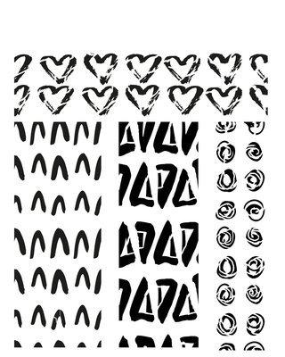 Pattern 3 stencil