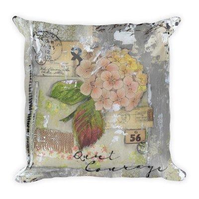 Quiet courage Square Pillow