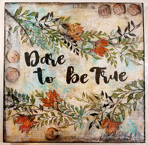 Dare to be True collage pak for Sunday Inspiration 9-17-17 instant download