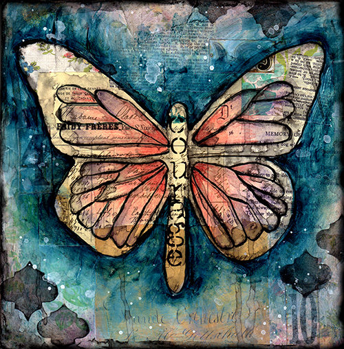 """""""Courage""""  Butterfly"""