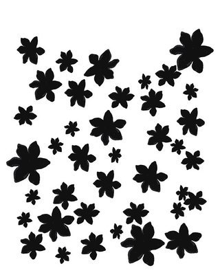 Flower Garden stencil