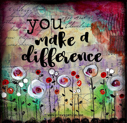 """""""You make a Difference"""""""