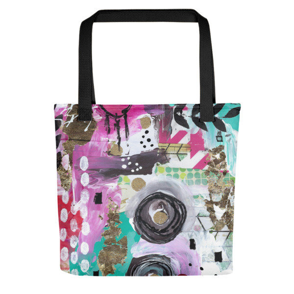 "Tote bag ""unexpected brilliance"""