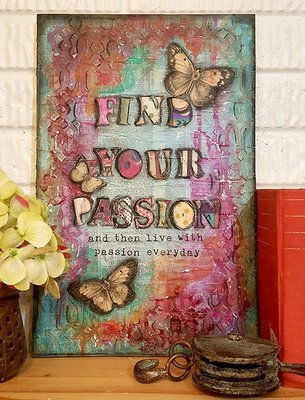 Find your passion print of the original on wood