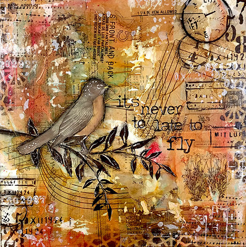 Collage pak for sunday inspiration 5-6-18 It's time to fly instant download