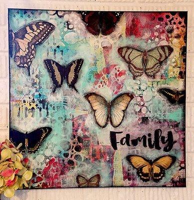 Family 20x20 gallery depth original on cavas