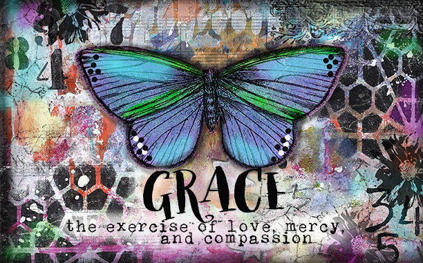 """Grace the exercise of Love"" Print on Wood and Print to be Framed"