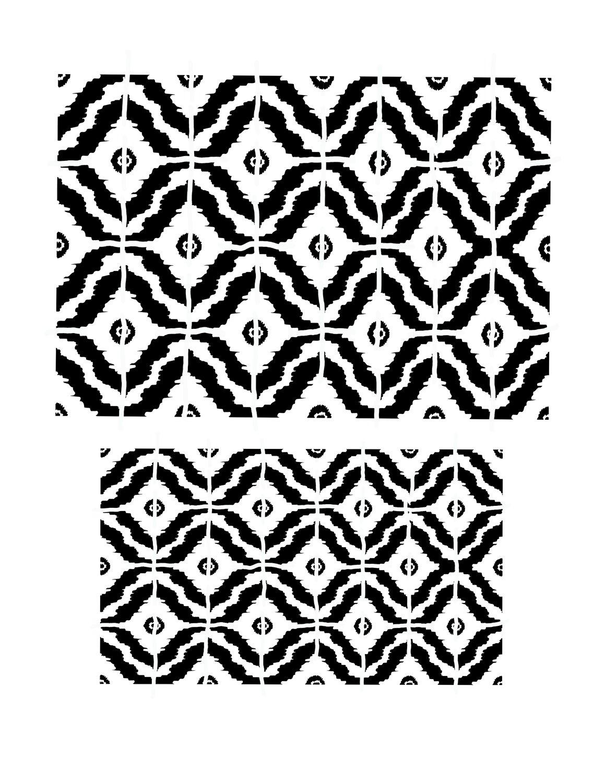 Pattern 4 stencil