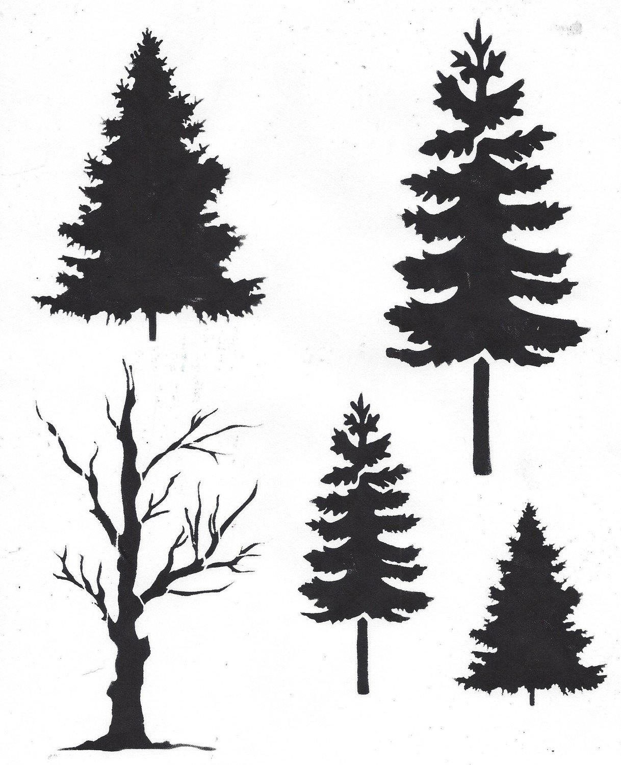 Trees with Masks
