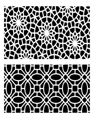 Mediterranean Duo 2 stencil