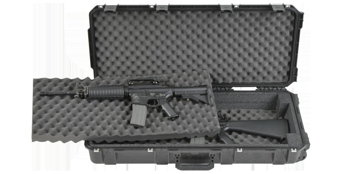 iSeries 3614 Double M4 / Short Rifle Case