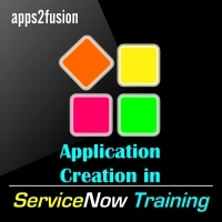 Application creation in serviceNow Training - 3 Days