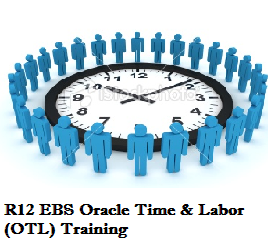 R12 EBS Oracle Time & Labor (OTL) Training