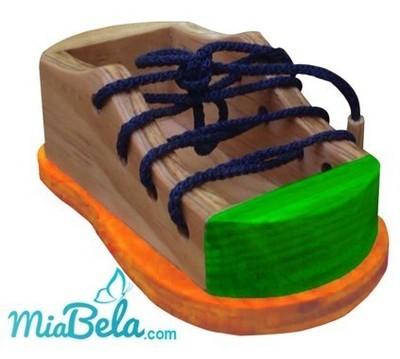 Zapato de madera (unidad)