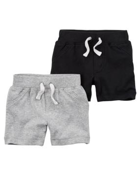 Set 2 shorts, 6 meses