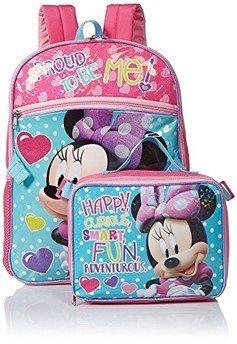 Lonchera + mochila Minnie Mouse