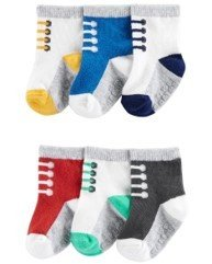 Set 6 pares calcetines, 12-24 meses