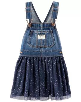 Overol falda, 4 años