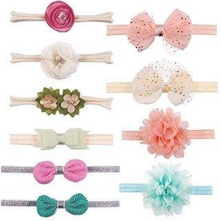Set de headbands, 10 pz